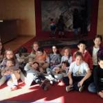 Grupo de niños en Cosmocaixa