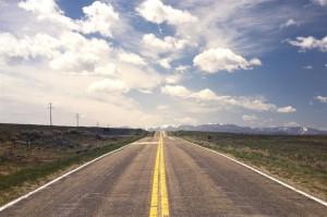Foto - Camino largo