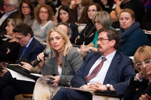Foto de Público participando con preguntas
