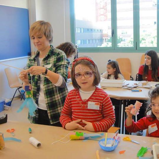 La importancia de la actividad manual en los niños