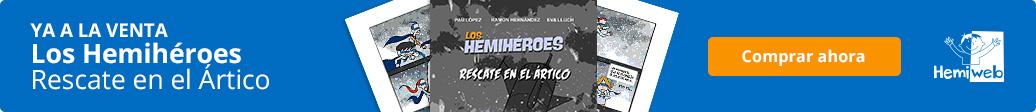 Banner que enlaza a Amazon para comprar el cómic de Hemiweb