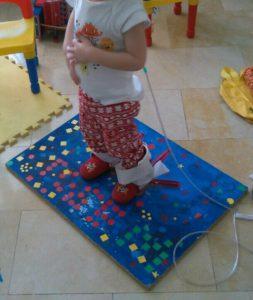 foto niño fisioterapia pediátrica