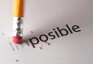 imagen borrando el im de ls palabra imposible
