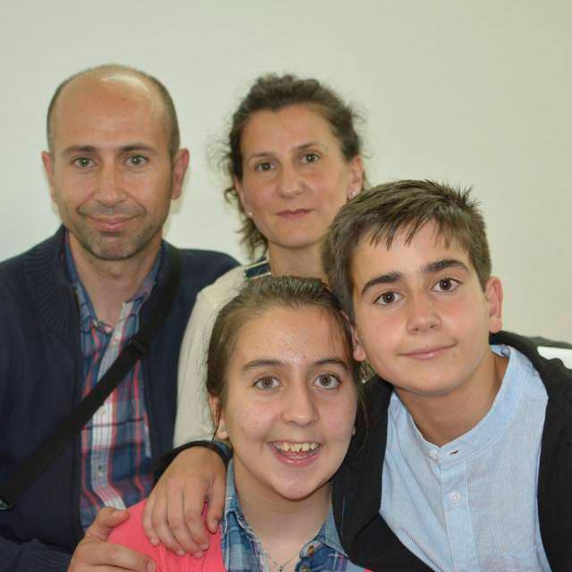 Foto Beatriz y familia